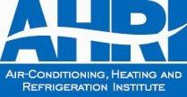 Air Conditioning, Heating, and Refrigeration Institute